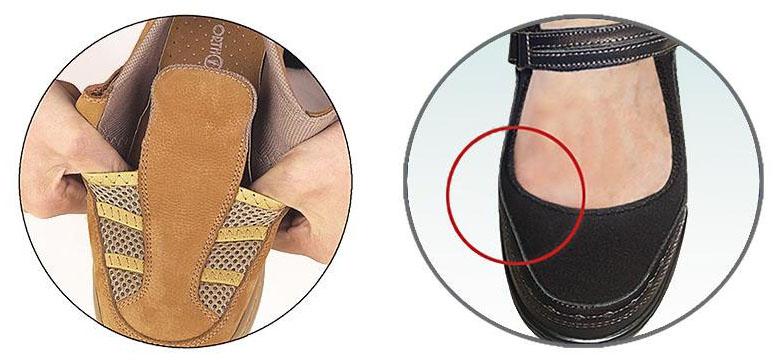 skor för onda fötter