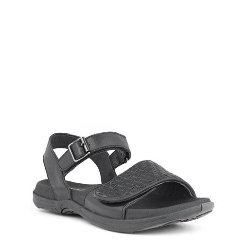 Green Comfort sandal Svart