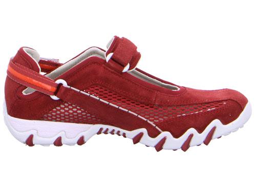 Allrounder Ergonomiska Sandaler Röd