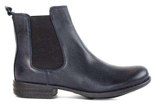 Rosa Negra Chelsea Boots Navy
