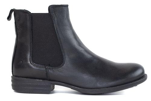 Rosa Negra Chelsea Boots Black