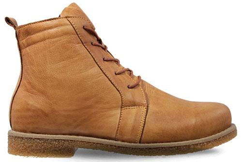 Charlotte Chelsea Lace Boot Cognac