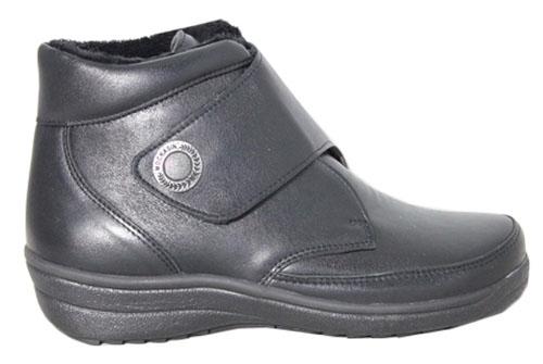 Mockasin Velcro Boot Black